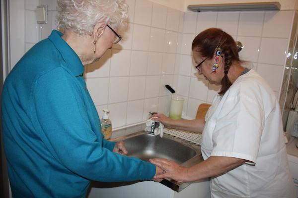 Unterstützung im Haushalt - Ambulanter Pflegedienst Nord Hamburg